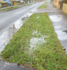 Drainage issue on Church Road in Witney