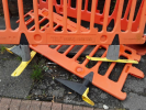 Hole in verge outside 2 & 3 Cherry Close by BT cover